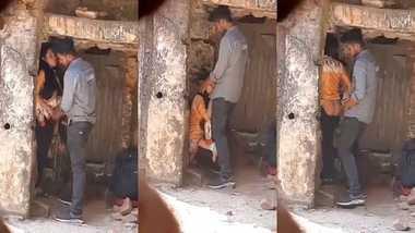 Bangladeshi lovers outdoor fucking caught on voyeur's cam