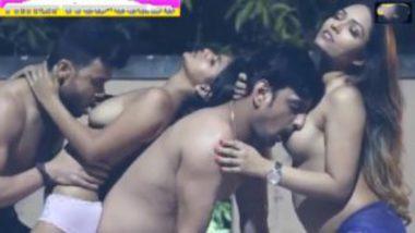 Desi teacher and students foursome sex movie
