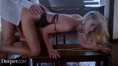 Deeper. Addie gets tied up & fucked by stranger on vacation
