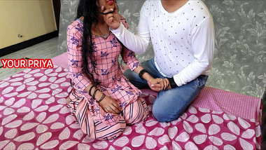 Cousin brother XXX hard fuck his sister Priya after her marriage - hindi roleplay sex - YOUR PRIYA