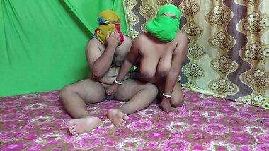Indian Bhabhi Pressing Boobs & Fingering Wet Pussy By Husband