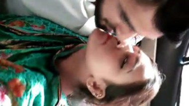 Paki couple kiss in car