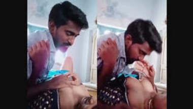 Horny desi bhabhi nude boobs sucking mms